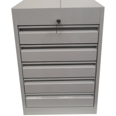 Five Drawer Unit