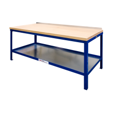 Heavy Duty Workbench With Hard Wooden Top