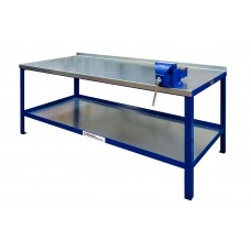 Heavy Duty Workbench With Galvanised Steel Top