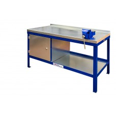 Super Heavy Duty Workbench With Hard Wooden/Steel Top