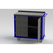 Double Cupboard Tool Trolley